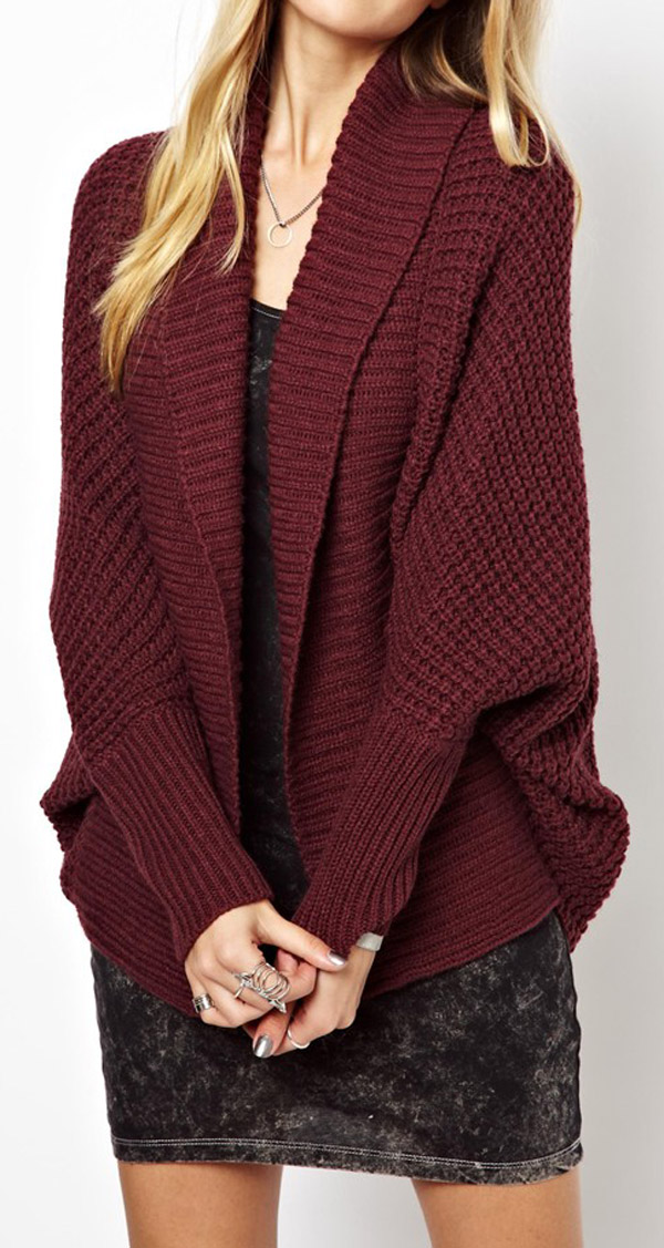 Chunky_knit_burgundy_cardigan