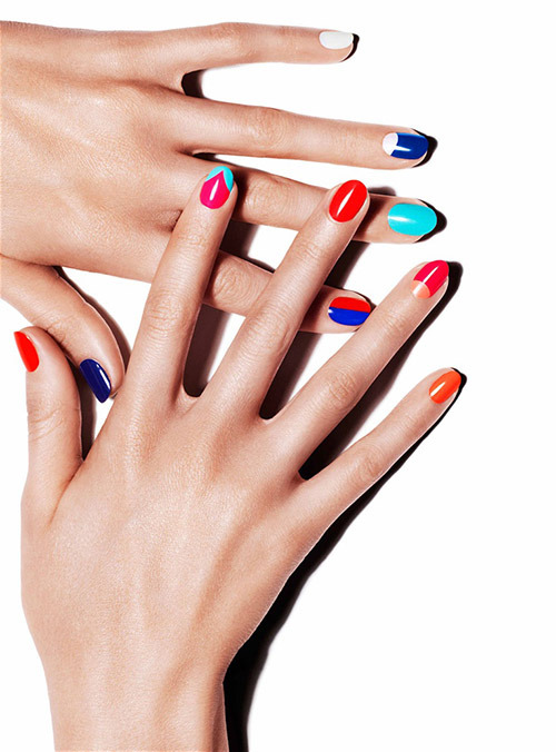 colorblock_nails_french_manicure