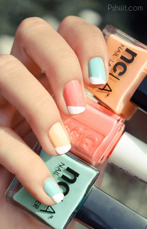colorblock_pastel_diagonal_nails_french_manicure