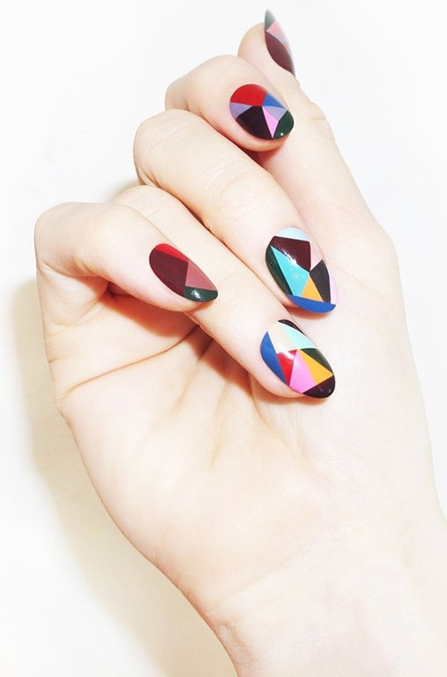 colorblock_stainglass_nails