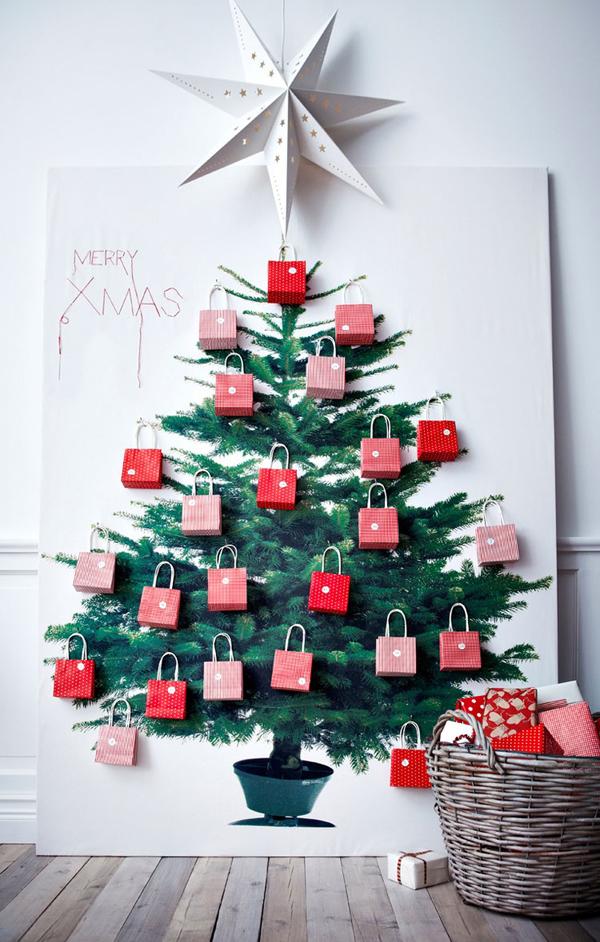 christmas tree made of books | Oh Mai Darling